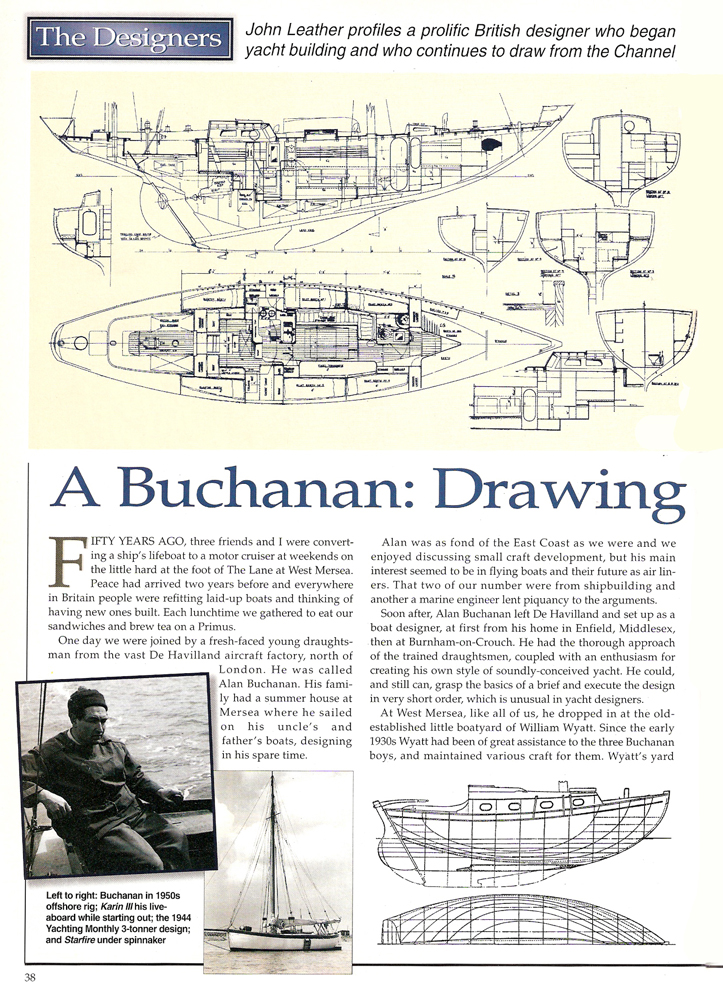 Classic Boat Article on Barbican P1